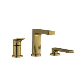 Riobel Ode OD10 3-piece deck-mount tub filler with hand shower
