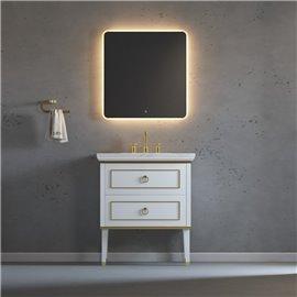 Virta 30 Inch Whitestar Floor Mount Single Sink Vanity