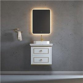 Virta 24 Inch Whitestar Wall Hung Single Sink Vanity