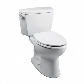TOTO CST744E ECO-DRAKE ELONGATED BWL TOILET