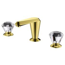 "Empyrean JDECR08 Jade 8"" Widespread Lavatory Faucet with Crystal"