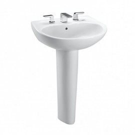 TOTO LPT241.8 SUPREME 8 CENTER LAV PED