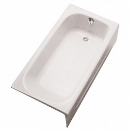 TOTO FBY1515LP L-HAND CAST IRON BATHTUB