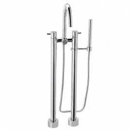 TOTO TB100DF DOUBLE-HANDLE FREESTANDING TUB
