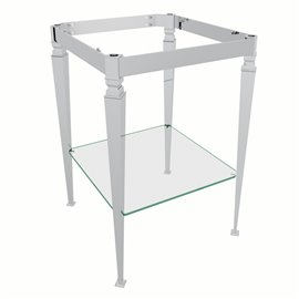Perrin & Rowe Deco™ Wash Stand With Glass Shelf