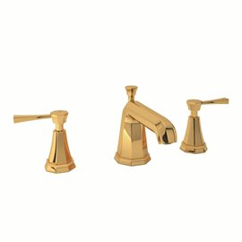 Perrin & Rowe Deco™ Widespread Lavatory Faucet