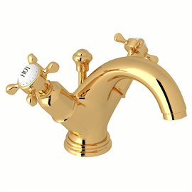 Perrin & Rowe Edwardian™ Two Handle Lavatory Faucet