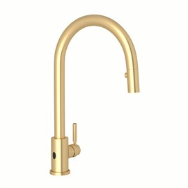 Perrin & Rowe Holborn™ Pull-Down Touchless Kitchen Faucet