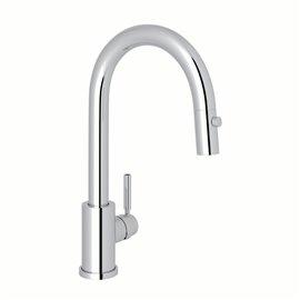 Perrin & Rowe Holborn™ Pull-Down Bar/Food Prep Kitchen Faucet