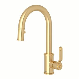 Perrin & Rowe Armstrong™ Pull-Down Touchless Kitchen Faucet
