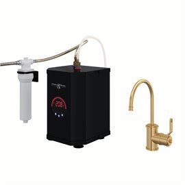 Perrin & Rowe Armstrong™ Hot Water and Kitchen Filter Faucet Kit