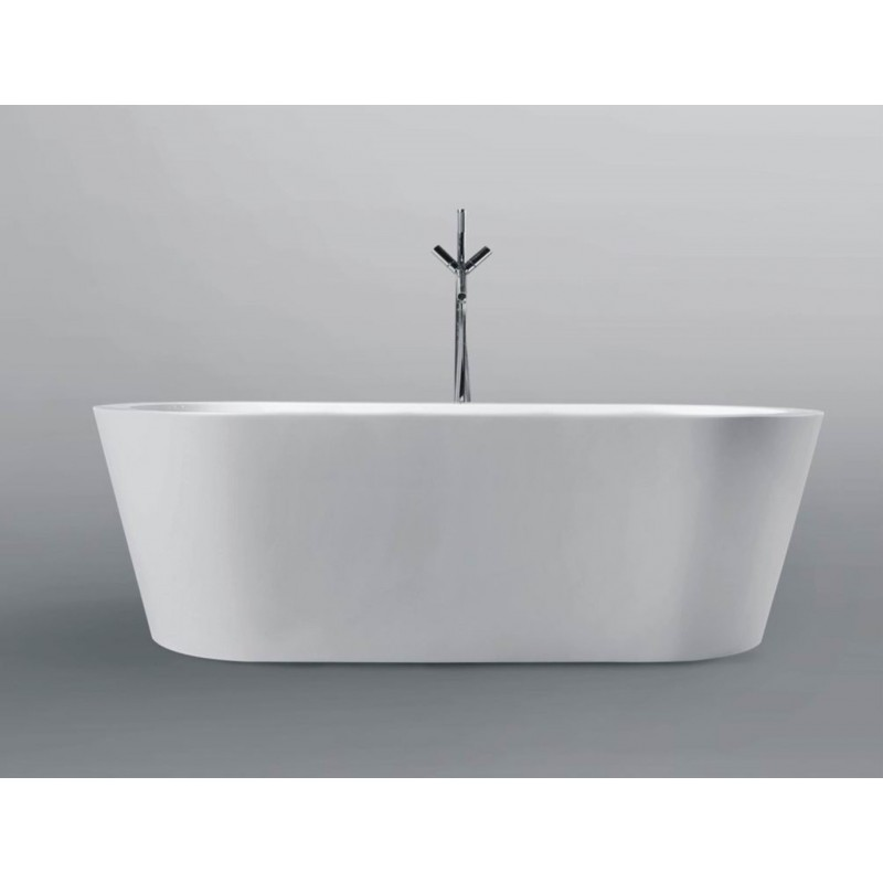 Buy virta barcelona 609 free standing acrylic bathtub at for Best acrylic bathtub to buy