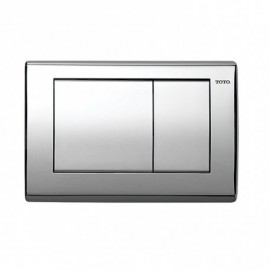 TOTO YT800 RECTANGLE PUSH PLATE - IN WALL