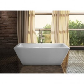 Neptune Freestanding AMAZE Bathtub Rectangle