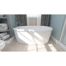 Neptune Freestanding Two Pieces VAPORA Bathtub