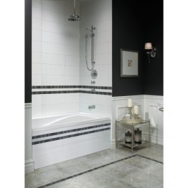 Neptune DELIGHT Bathtub with Tiling Flange and Skirt