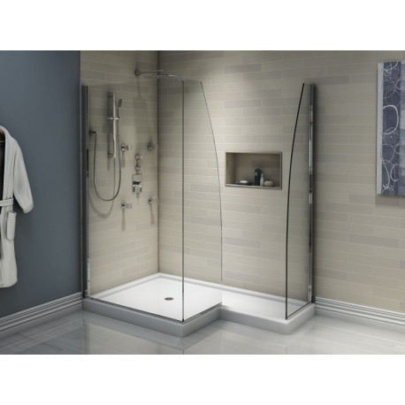 Buy Neptune Space Shower Base With Tiling Flange At