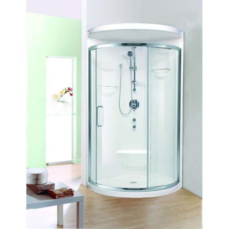 Buy neptune nice shower door lateral sliding opening at for Nice sliding glass doors