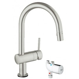 GROHE 31392DC0 Minta Touch Kitchen Faucet wMicroTherm Unit