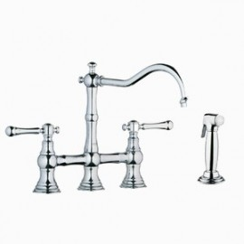 GROHE 20158 Bridgeford Bridge Kitchen Faucet wspray
