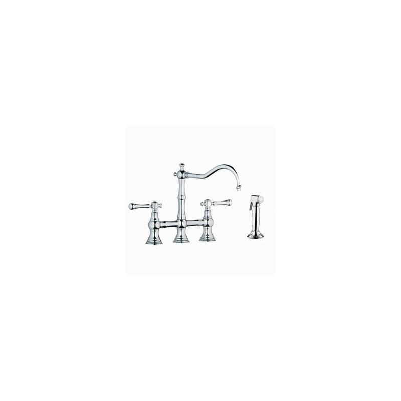 Buy Grohe 20158 Bridgeford Bridge Kitchen Faucet Wspray At Discount Price At Kolani Kitchen