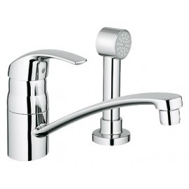 GROHE 31134 Eurosmart Kitchen Faucet 2-h wside spray
