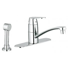 GROHE 31353 Eurosmart Cosmopolitan Kitchen Faucet 2-h wside spray escutcheon