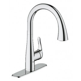 GROHE 30211 Elberon Pull-Down Kitchen Faucet