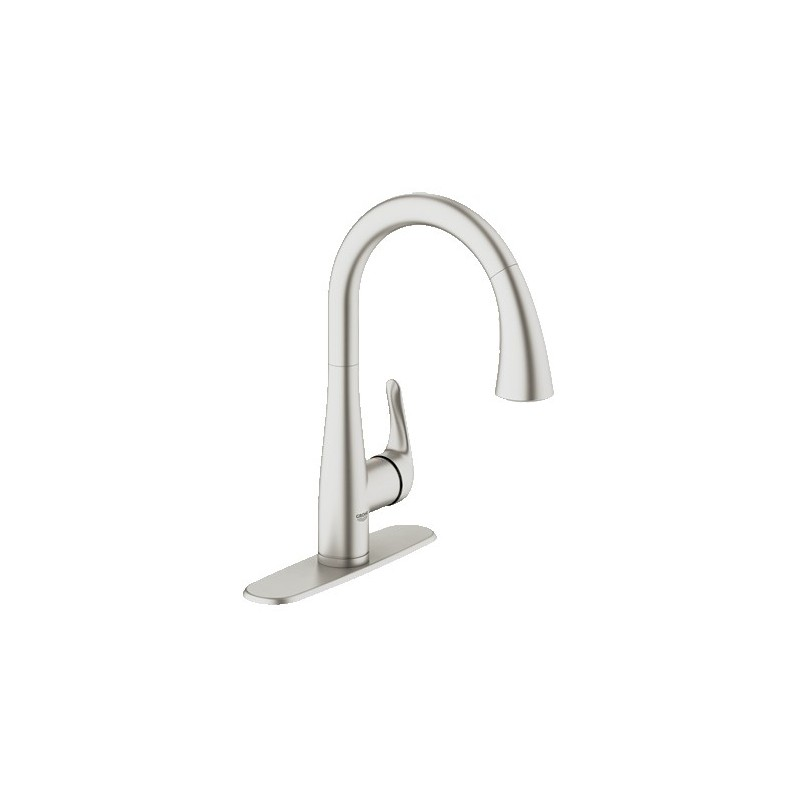 Buy GROHE Elberon Pull Down Kitchen Faucet at