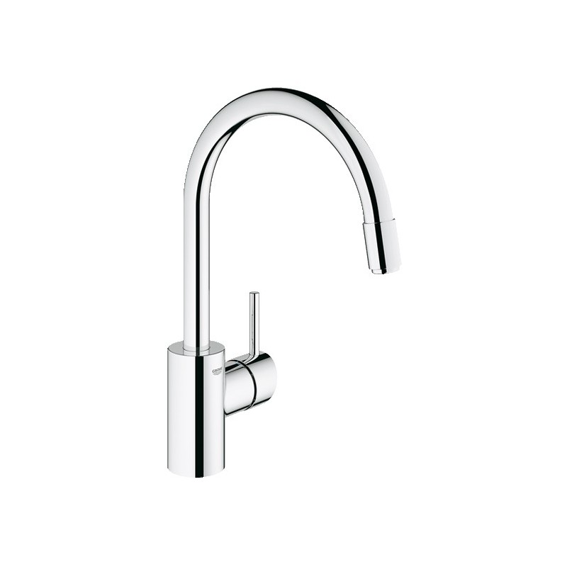 Buy grohe 31349 concetto dual spray kitchen pull out - Grohe concetto shower ...