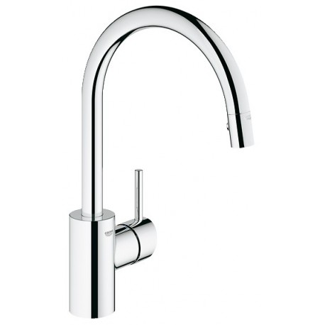 GROHE 32665 Concetto Dual Spray Kitchen Pull Out Faucet