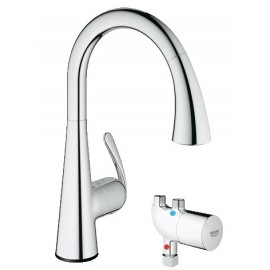 GROHE 30226 LadyLux Cafe Touch wMicroTherm Unit