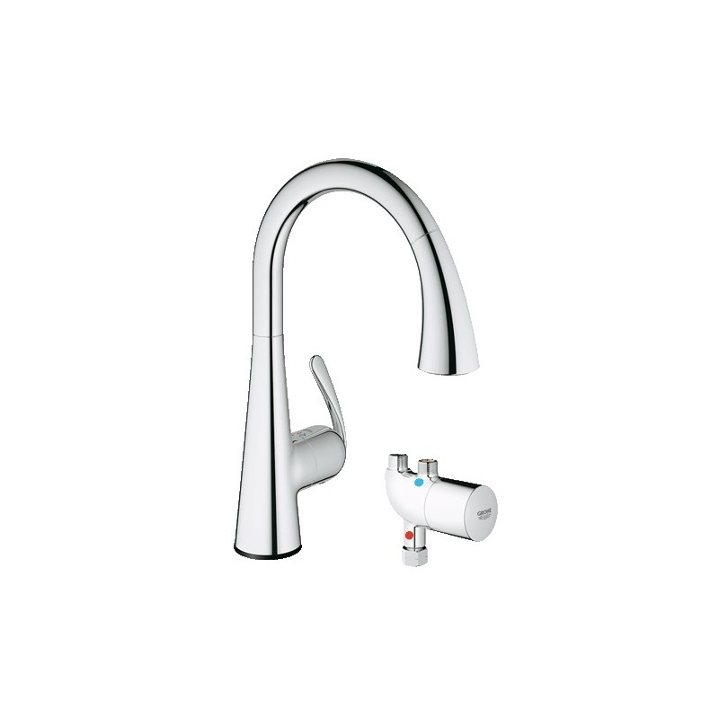 bathroom sinks faucets buy grohe 30226 ladylux cafe touch wmicrotherm unit at 11478