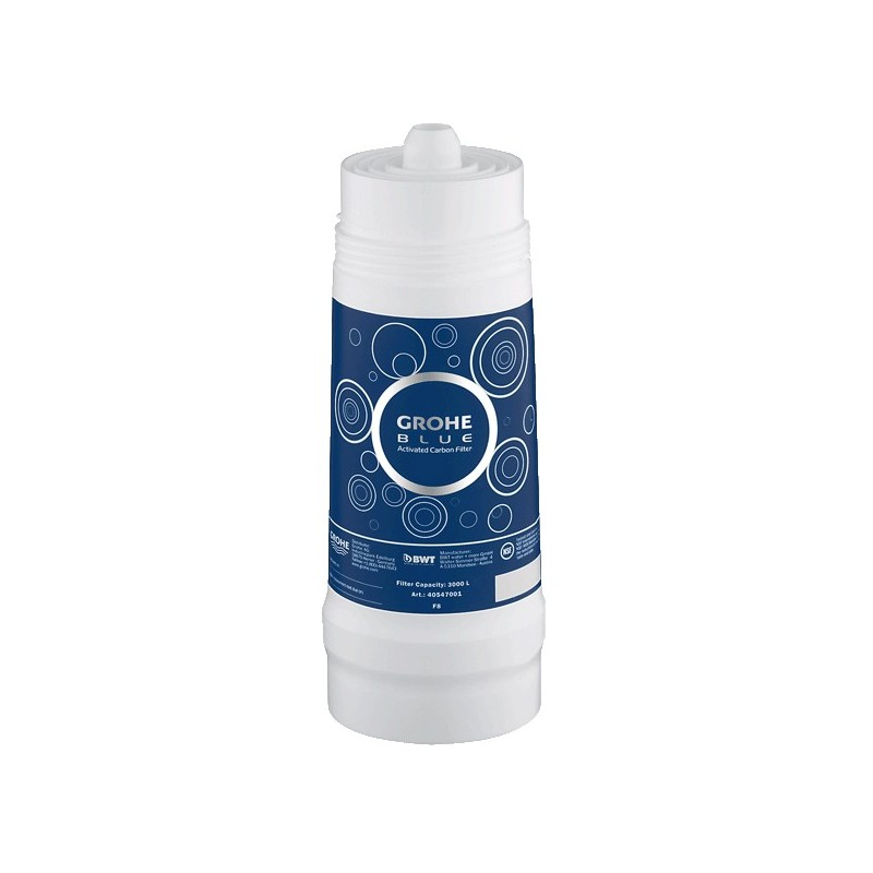 buy grohe 40547 grohe blue filter active carbon 3000 l 792 5 gallons at discount price at kolani. Black Bedroom Furniture Sets. Home Design Ideas