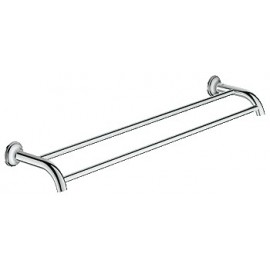 GROHE 40654 Essentials Authentic Double Towel Bar 24