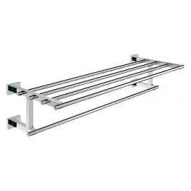 GROHE 40512 Essentials Cube towel holder w.shelf 600