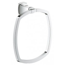 GROHE 40630 Grandera Towel Ring Chrome