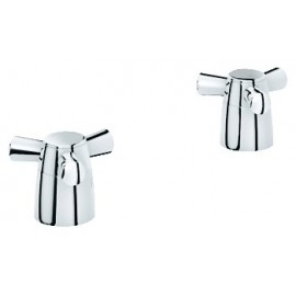 GROHE 18084 Arden Cross Hdls Pair