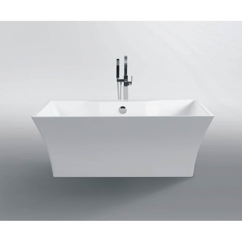Buy virta dubai 613 free standing acrylic bathtub at for Best acrylic bathtub to buy