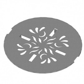 Rubinet 9FSD12 ESSENTIALS - SHOWER DRAIN ACR BASE PAISLEY