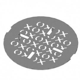 Rubinet 9FSD13 ESSENTIALS - SHOWER DRAIN ACR BASE XOXO