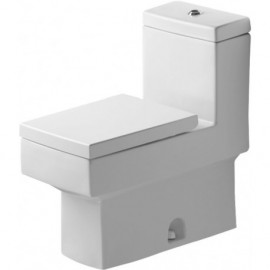 Duravit 2103010005 One-piece toilet Vero white with mech. siphon jet elongated