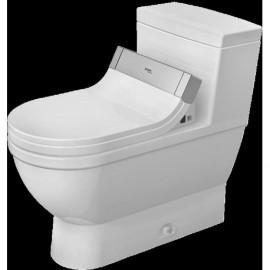 Duravit 2120510001 One-Piece toilet Starck 3 white w.mech. siphon jet elong. HETGB