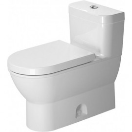 Duravit 2123010005 One-Piece toilet Darling New white w.mech. siphon jet elong. HET