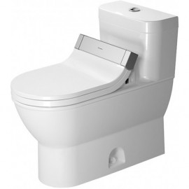 Duravit 2123510005 One-Piece toilet Darling New white w.mech. siphon jet elong. HET