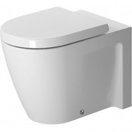 Duravit 2128090092 Bowl only for Toilet floor standing 57cm Starck 2 white hori.outlet washd. US