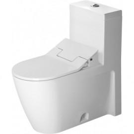 Duravit 2133510005 One-piece toilet Starck 2 white w.mech. siphon jet elong. HET