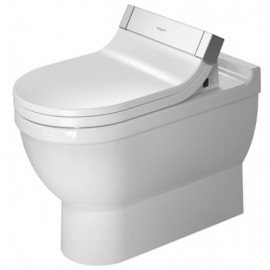 Duravit 2158590000 Bowl only for Toilet floor standing 62cm Starck 3 white hori.outl. washd. btw SW