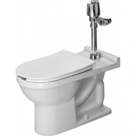 Duravit 2165010000 Bowl only for Toilet floor standing 700mm Starck3 white siphon jet elong ver.outl.