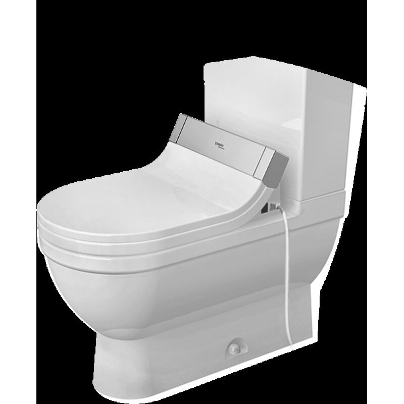 buy duravit 2125010000 bowl only for two piece toilet. Black Bedroom Furniture Sets. Home Design Ideas